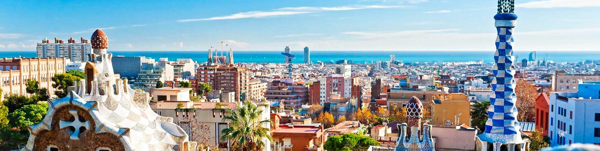 Barcelona Kort Kort Barcelona Catalonien Spanien